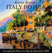 Cover of: Karen Browns Italy Hotels 2009