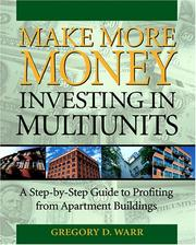 Cover of: Make More Money Investing in Multiunits