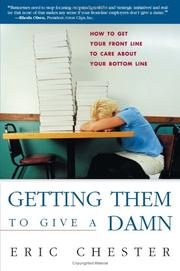 Cover of: Getting them to give a damn