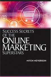 Cover of: Success Secrets of the Online Marketing Superstars