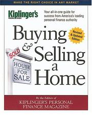 Cover of: Buying & Selling a Home   (Buying & Selling a Home)