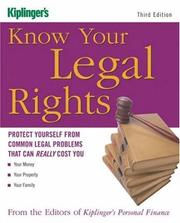 Cover of: Know Your Legal Rights