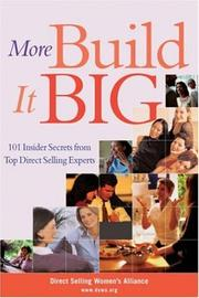 Cover of: More Build It Big
