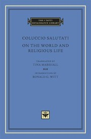 Cover of: On the World and Religious Life