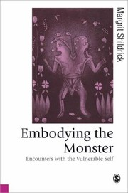 Cover of: Embodying The Monster Encounters With The Vulnerable Self