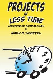 Cover of: Projects in Less Time: