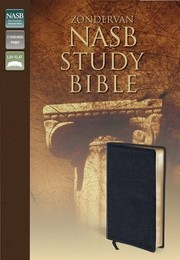 Cover of: New American Standard Study Bible Black Leather