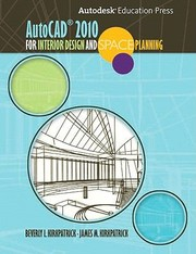 Cover of: Autocad 2010 For Interior Design And Space Planning