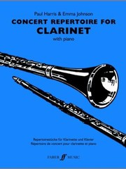 Cover of: Concert Repertoire For Clarinet With Piano