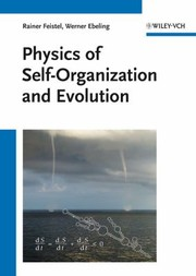Cover of: Physics Of Selforganization And Evolution