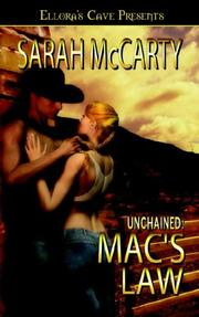 Cover of: Unchained: Mac's Law