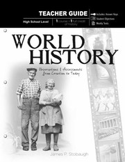 Cover of: World History Teacher Observations And Assessments From Creation To Today