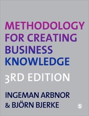 Cover of: Methodology For Creating Business Knowledge