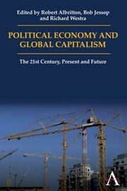 Cover of: Political Economy and Global Capitalism