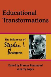 Cover of: Educational Transformations