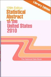 Cover of: Statistical Abstract Of The United States 2010