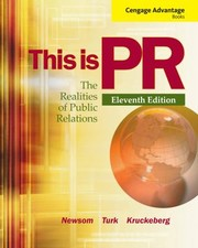 Cover of: This Is Pr The Realities Of Public Relations