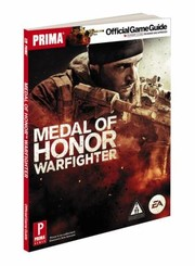 Cover of: Medal Of Honor Warfighter Prima Official Game Guide