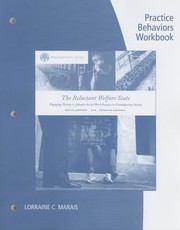 Cover of: The Reluctant Welfare State Practice Behaviors Workbook