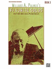 Cover of: Willard A Palmers Favorite Solos Book 3