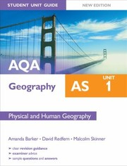 Cover of: Aqa As Geography