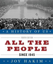 Cover of: All The People Since 1945