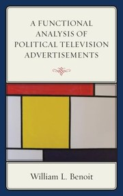 Cover of: A Functional Analysis Of Political Television Advertisements