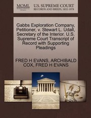 Cover of: Gabbs Exploration Company Petitioner