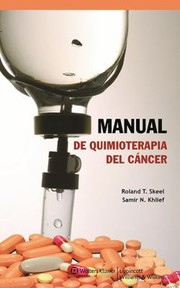 Cover of: Manual De Quimioterapia Del Cncer