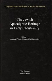 Cover of: The Jewish Apocalyptic Heritage In Early Christianity