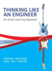 Cover of: Thinking Like An Engineer An Active Learning Approach