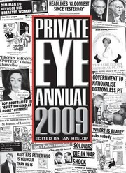 Cover of: Private Eye Annual 2009