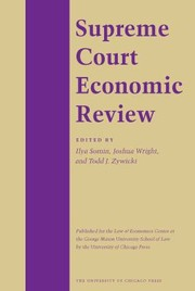 Cover of: The Supreme Court Economic Review