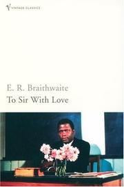 Cover of: To Sir, with love