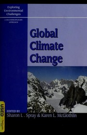 Cover of: Global climate change |