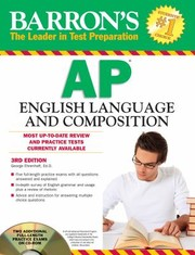 Cover of: Barronss Ap English Language And Composition