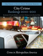 Cover of: City Crime Rankings 20092010 Crime In Metropolitan America