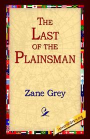Cover of: The Last Of The Plainsman