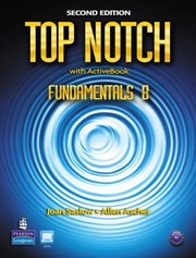 Cover of: Top Notch English For Todays World With Workbook Fundamentals B