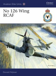 Cover of: No 126 Wing Rcaf