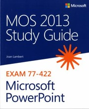 Cover of: Mos 2013 Study Guide For Microsoft Powerpoint