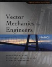 Cover of: Vector Mechanics For Engineers Statics Si Units