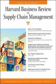 Cover of: Harvard Business Review on Supply Chain Management | Harvard Business Sch