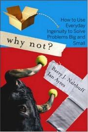 Why Not? by Barry Nalebuff, Ian Ayres