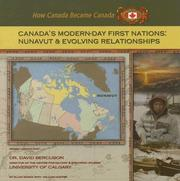 Cover of: Canada's modern-day First Nations