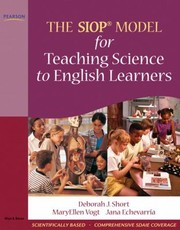 Cover of: The Siop Model For Teaching Science To English Learners