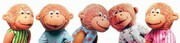 Cover of: Five Little Monkeys Finger Puppets