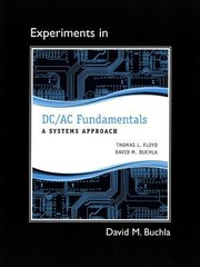 Cover of: Experiments In Dcac Fundamentals A Systems Approach