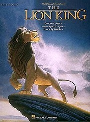 Cover of: Walt Disney Pictures Presents The Lion King Original Songs