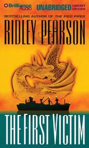 Cover of: First Victim, The (Lou Boldt/Daphne Matthews) | Ridley Pearson